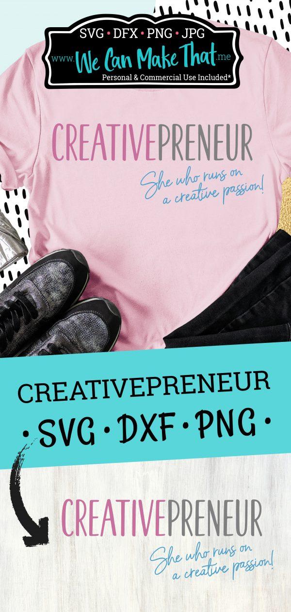 Creative Entrepreneur SVG