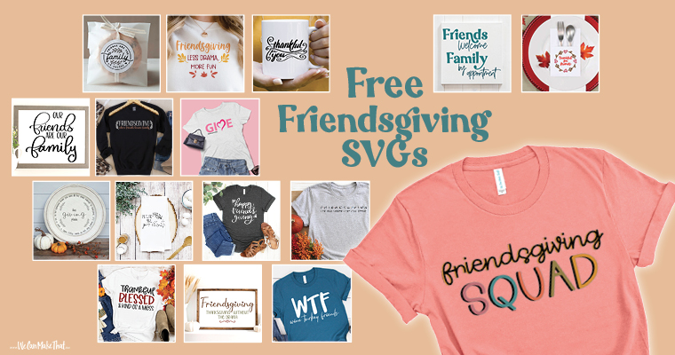 free friendsgiving svg
